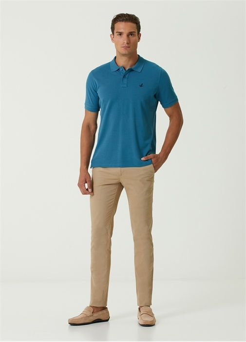 Comfort Fit Polo Yaka T-shirt