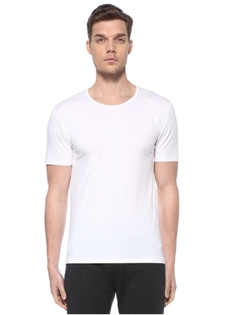 Zimmerli Erkek Beyaz Basic T-shirt M EU male