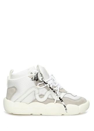 Off-White Kadın Beyaz Logolu Bilek Boy Sneaker 36 EU