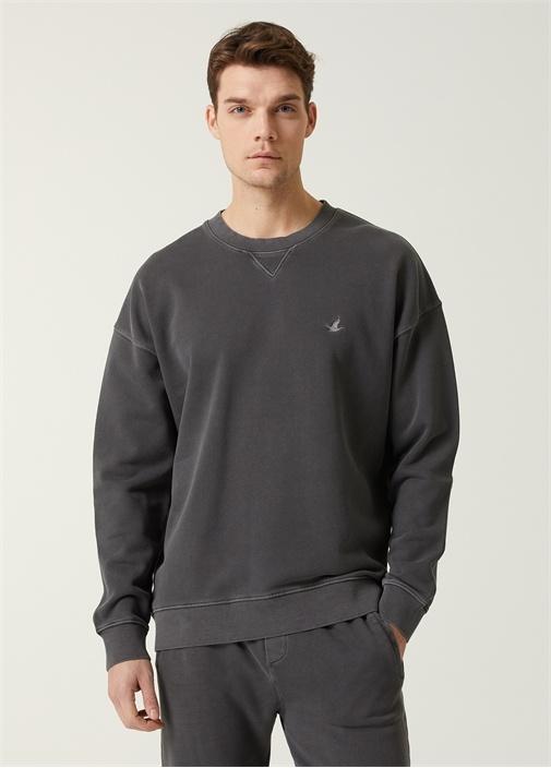 Antrasit Basic Sweatshirt