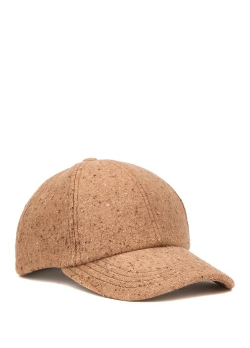 Bej Nopeli Erkek Şapka