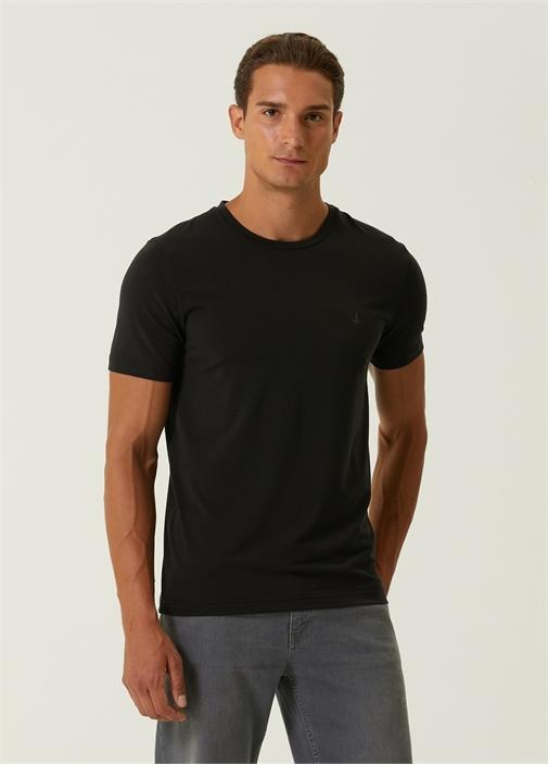 Cool Active Antrasit Logolu Basic T-shirt