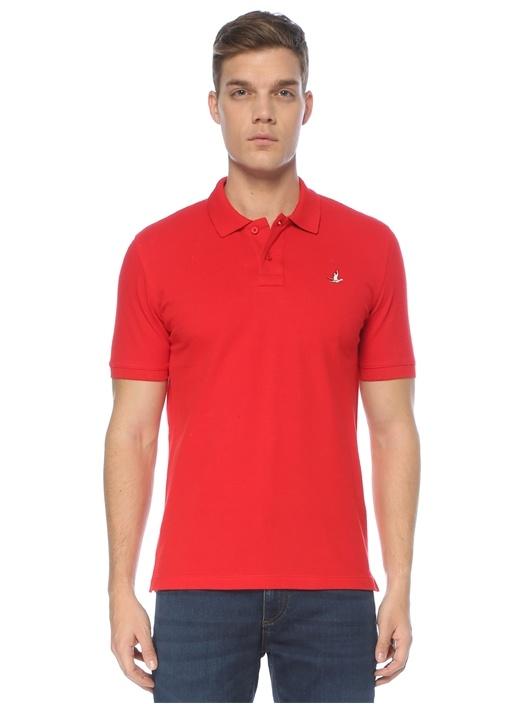 Basic Comfort Fit Kırmızı Polo Yaka T-shirt