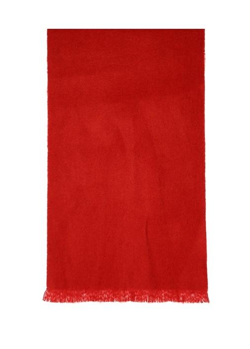 Kırmızı Kadın Atkı