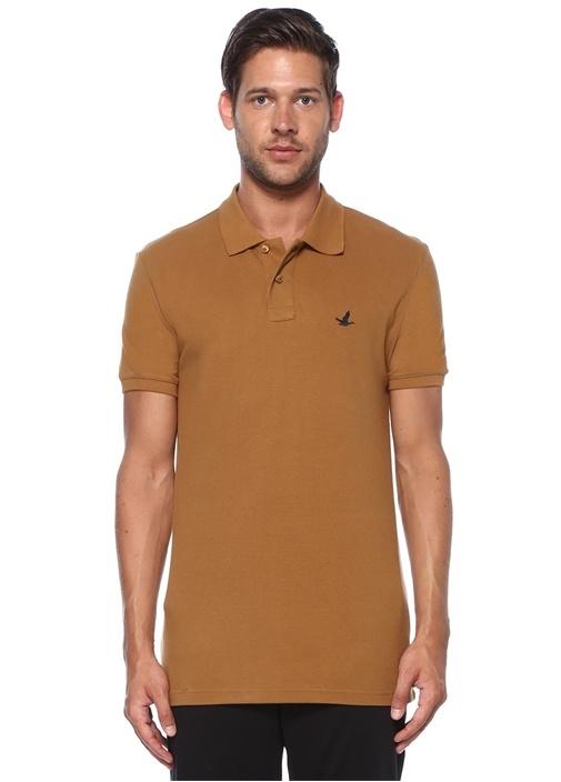 Slim Fit Hardal Polo Yaka T-shirt