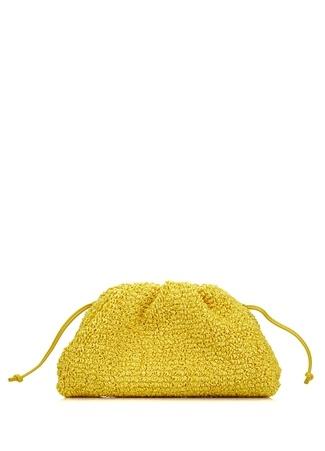 Bottega Veneta Kadın Mini Pouch Hardal Omuz Çantası Sarı EU
