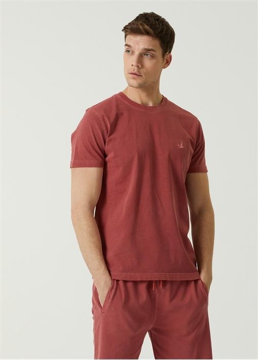 Kırmızı Basic T-shirt