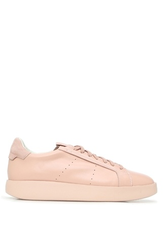 Santoni Kadın Pembe Deri Sneaker Bordo 36 EU