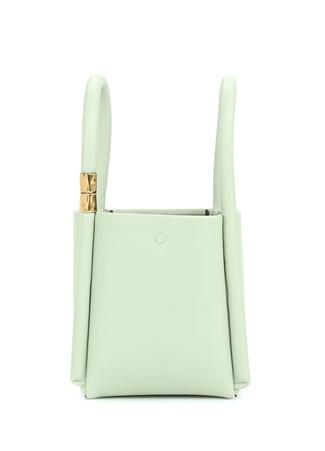 Boyy Bag Kadın Lotus 2 Yeşil Deri Omuz Çantası EU
