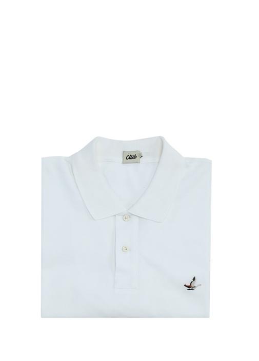 Extra Comfort Fit Beyaz Büyük Beden T-shirt
