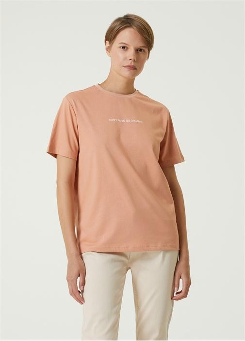 Dont Panic Go Organic Somon T-shirt