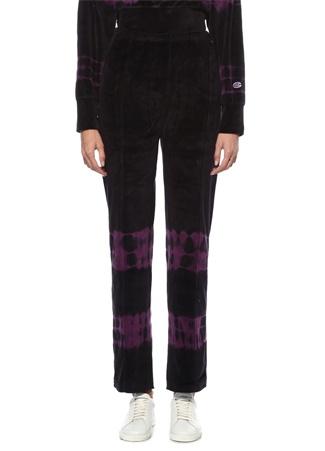 Champion Kadın Siyah Mor Batik Desenli Pantolon Pembe S EU