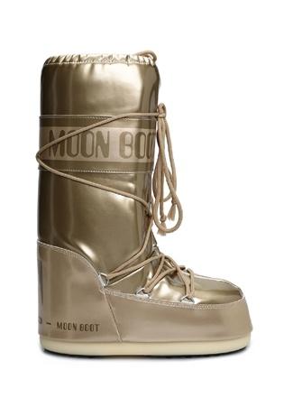 Moon Boot Kadın Vinile Met Gold Kar Botu Altın Rengi 39-4 EU