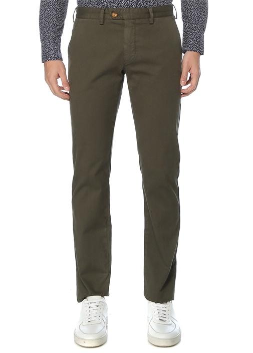 Regular Fit Haki Chino Pantolon