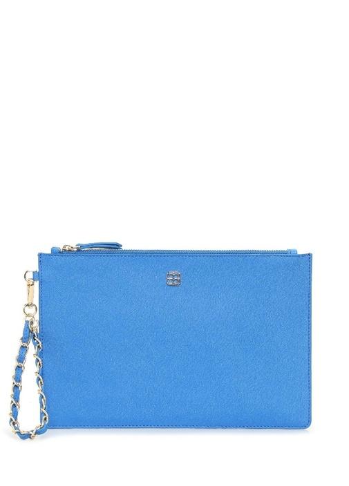 OE Essential Mavi Kadın El Portföyü