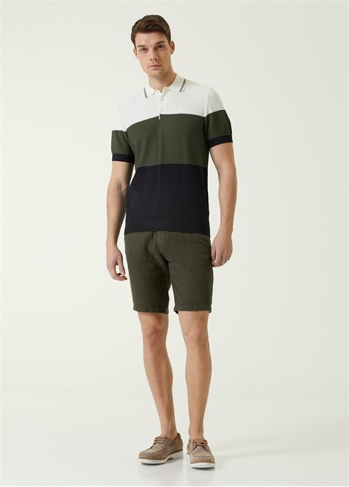 Polo Yaka Colorblock T-shirt