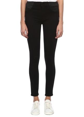 J Brand Kadın Mama Siyah Skinny Jean Pantolon 25 US