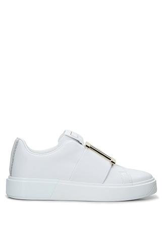 Balmain Kadın B Court Beyaz Deri Sneaker 36 EU