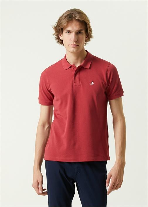 Comfort Fit Kiremit Polo Yaka T-shirt