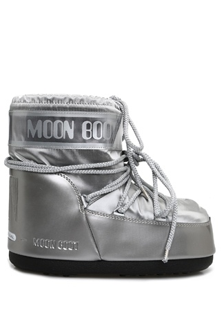 Moon Boot Kadın Glance Low Silver Kar Botu Gri 39-4 EU