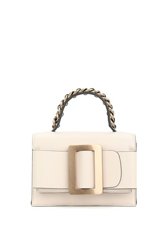 Boyy Bag Kadın Fred 9 Altın Rengi Deri Omuz Çantası EU