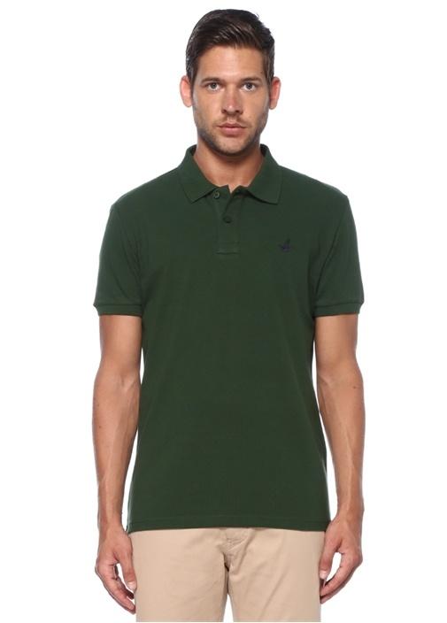 Slim Fit Yeşil Polo Yaka T-shirt