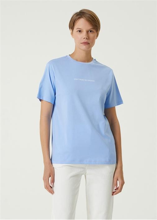 Dont Panic Go Organic Lila T-shirt