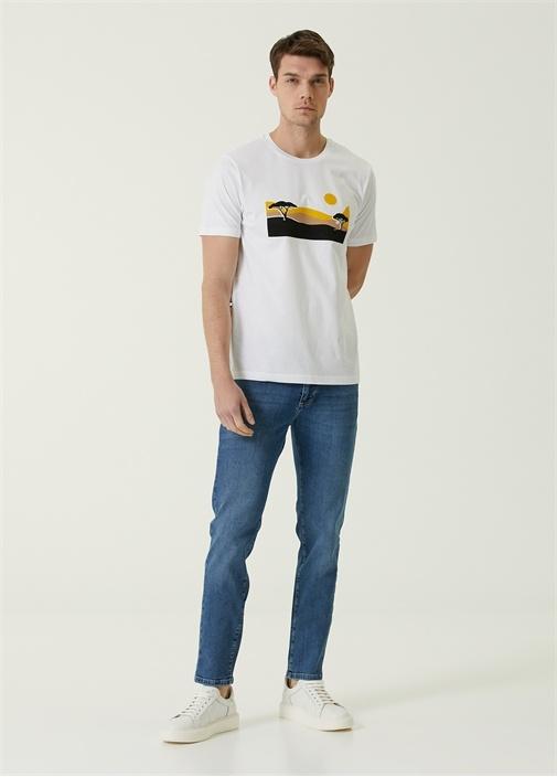 Slim Fit Mavi Jean Pantolon