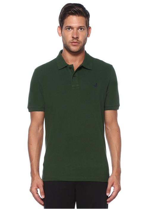 Comfort Fit Yeşil Polo Yaka T-shirt