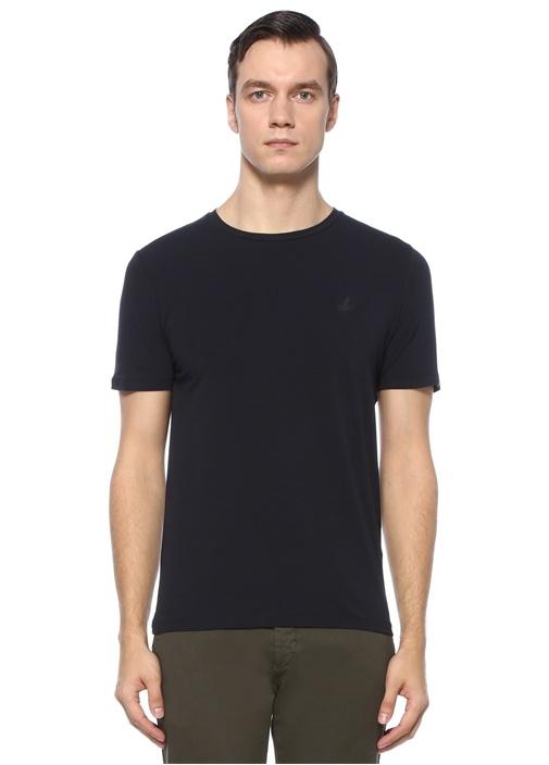 Lacivert Kuş Logolu Basic T-shirt