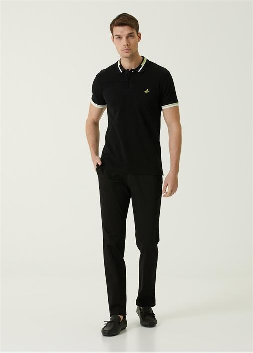 Regular Fit Siyah Spor Pantolon